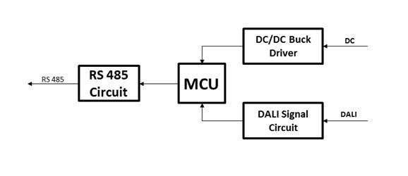 Dali Motion And Light Sensor Converter l01-03-01-1 on